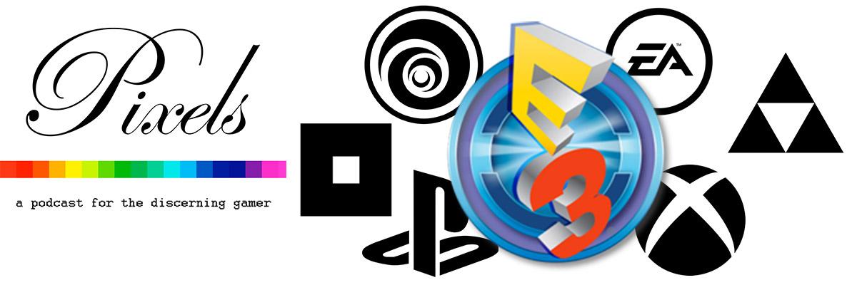 Pixels 38 – E3 2016 – Booxels
